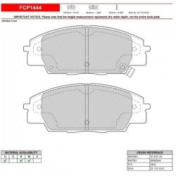 FERODO RACING- Pastiglie freno FCP1444W
