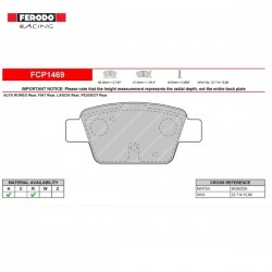 FERODO RACING- Pastiglie freno FCP1469H