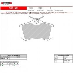 FERODO RACING- Pastiglie freno FCP1491W