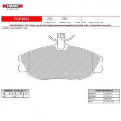 FERODO RACING- Pastiglie freno FCP1063H