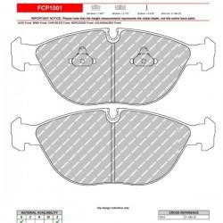 FERODO RACING- Pastiglie freno FCP1001Z