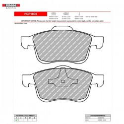 FERODO RACING- Brake pads FCP1805H