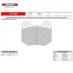 FERODO RACING- Brake pads FCP448H