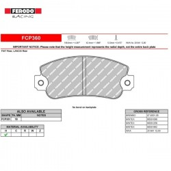FERODO RACING- Brake pads FCP360H