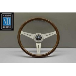 NARDI ND36 CLASSICO WOOD/WHITE ANODIZED