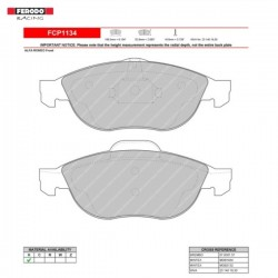 FERODO RACING- Brake pads FCP1134H