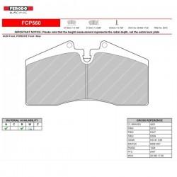 FERODO RACING- Pastiglie freno FCP560R