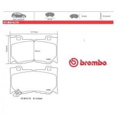 BREMBO - Brake pads 07.B314.75