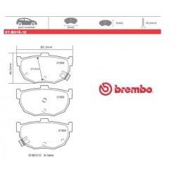 BREMBO - Brake pads 07.B315.12