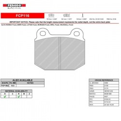 FERODO RACING- Brake pads FCP116R