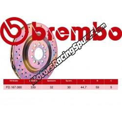 BREMBO - Front brake discs FD.167.000