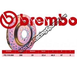 BREMBO - Disco Freni FD.115.000