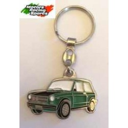 Keyring A112 Abarth green