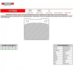 FERODO RACING- Pastiglie freno FCP809R
