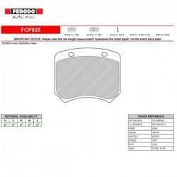 FERODO RACING- Pastiglie freno FCP825C