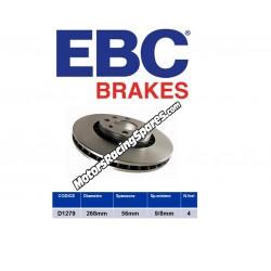 EBC Disco Freno Posteriore D1279