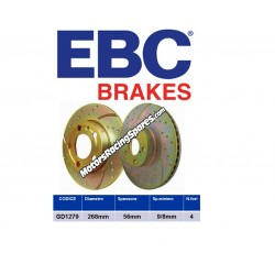 EBC Rear brake disc DG1279