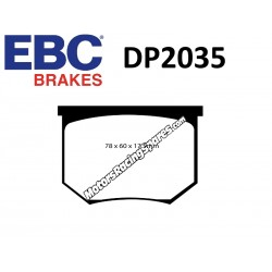 EBC Pastiglie freno DP2035