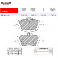 FERODO RACING- Brake pads FCP1931W