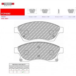 FERODO RACING- Brake pads FCP4262H