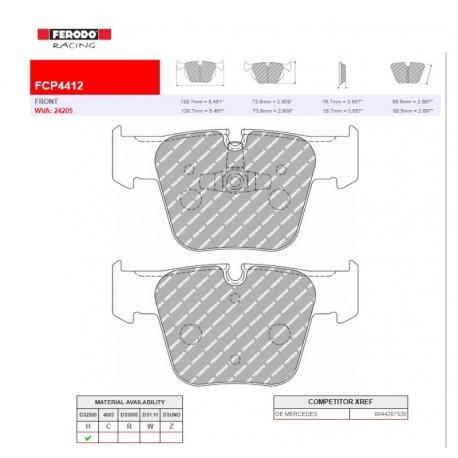 FERODO RACING- Pastiglie freno FCP4412H