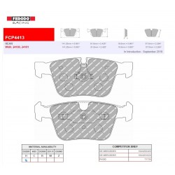 FERODO RACING- Brake pads FCP4413H