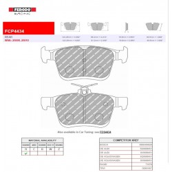 FERODO RACING- Brake pads FCP4434H