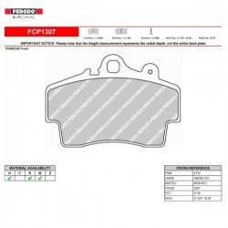 FERODO RACING- Brake pads FCP1307W