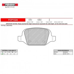 FERODO RACING- Brake pads FCP1324H