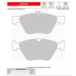 FERODO DS PERFORMANCE-Brake pads FDS1050