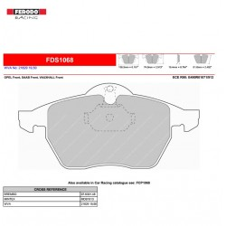 FERODO DS PERFORMANCE-Brake pads FDS1068