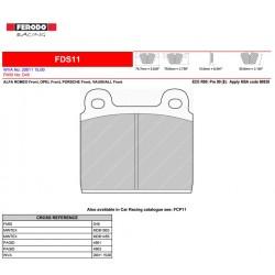 FERODO DS PERFORMANCE-Pastiglie freno FDS11
