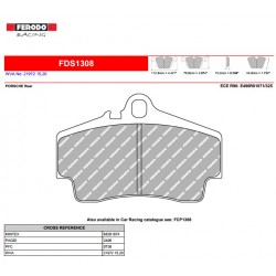 FERODO DS PERFORMANCE-Pastiglie freno FDS1308