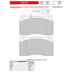 FERODO DS PERFORMANCE-Pastiglie freno FDS1334