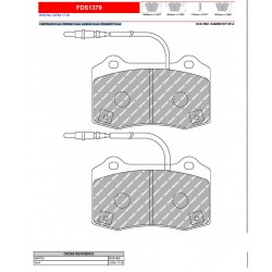 FERODO DS PERFORMANCE-Brake pads FDS1379