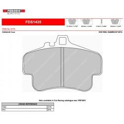 FERODO DS PERFORMANCE-Pastiglie freno FDS1435