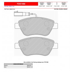 FERODO DS PERFORMANCE-Brake pads FDS1466