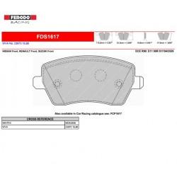 FERODO DS PERFORMANCE-Pastiglie freno FDS1617
