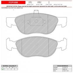 FERODO RACING Brake pads FCP1056H