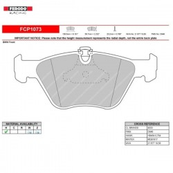 FERODO RACING  Brake pads FCP1073W