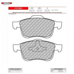 FERODO RACING- Brake pads FCP1805H