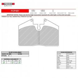 FERODO RACING- Pastiglie freno FCP451Z