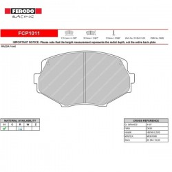 FERODO RACING- Brake pads FCP1011H
