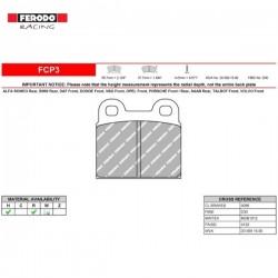 FERODO RACING- Brake pads FCP3W