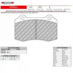 FERODO RACING- Brake pads FCP721W