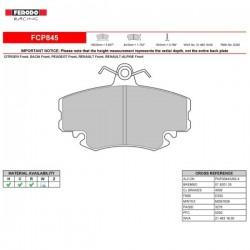 FERODO RACING- Pastiglie freno FCP845H