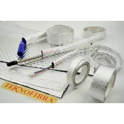 TEKNOFIBRA - Nastro adesivo in allumino 25mm
