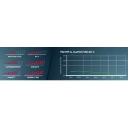 PAGID RACING Brake pads E2704RSTD1