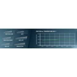 PAGID RACING Brake pads E8006RSC1