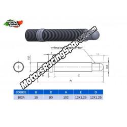AITECH Double Thread Stud 12x1.25-12x1.25 L.102mm